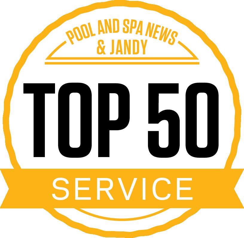 Aquabliss Top 50 Award